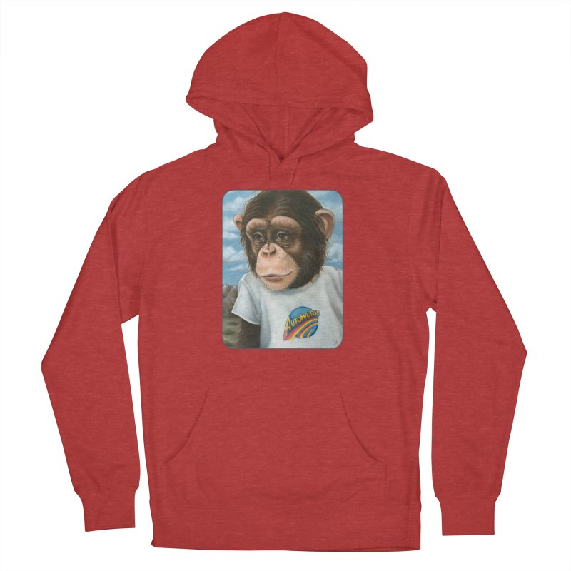 Auto Chimp Women's French Terry Pullover Hoody by Ken Keirns