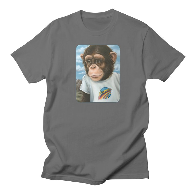 Auto Chimp Women's T-Shirt by Ken Keirns