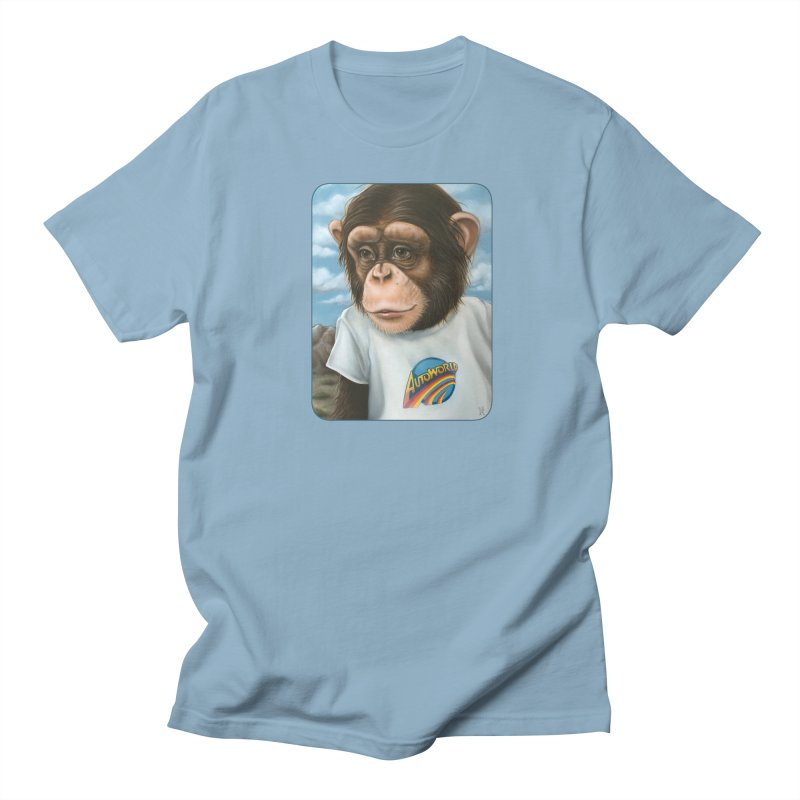 Auto Chimp Women's Regular Unisex T-Shirt by Ken Keirns