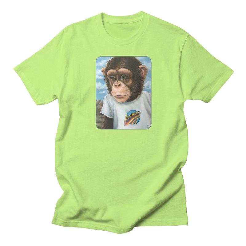 Auto Chimp Women's Regular Unisex T-Shirt by Ken Keirns