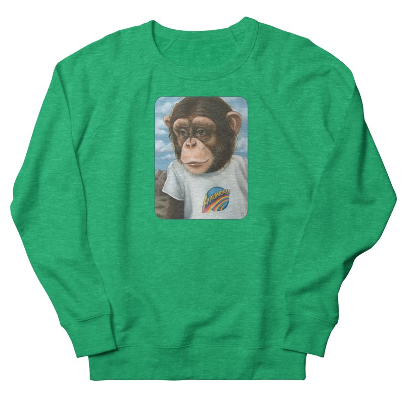 Auto Chimp Women's Sweatshirt by Ken Keirns