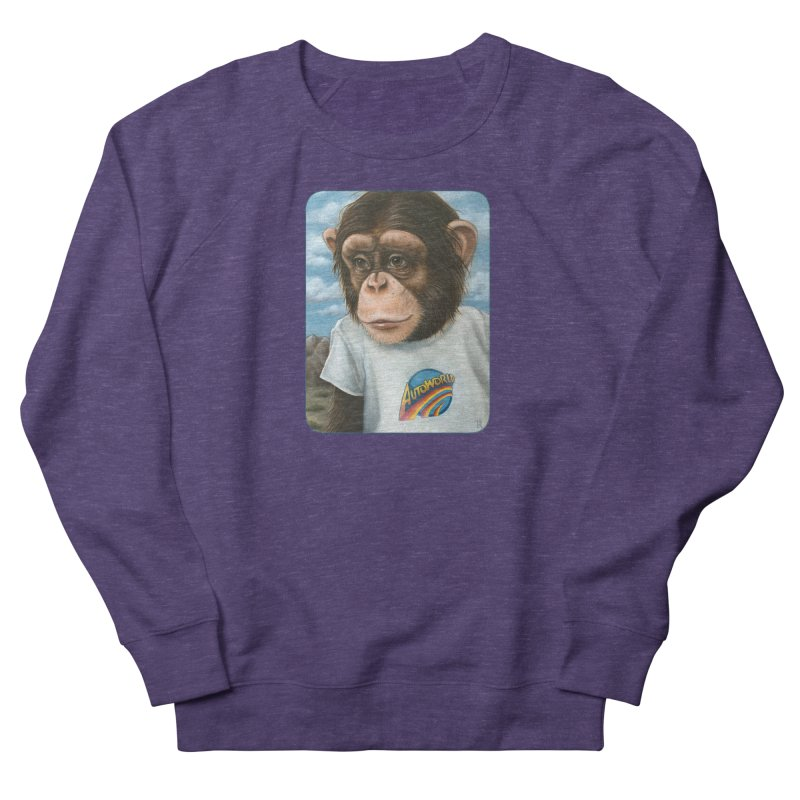 Auto Chimp Men's French Terry Sweatshirt by Ken Keirns