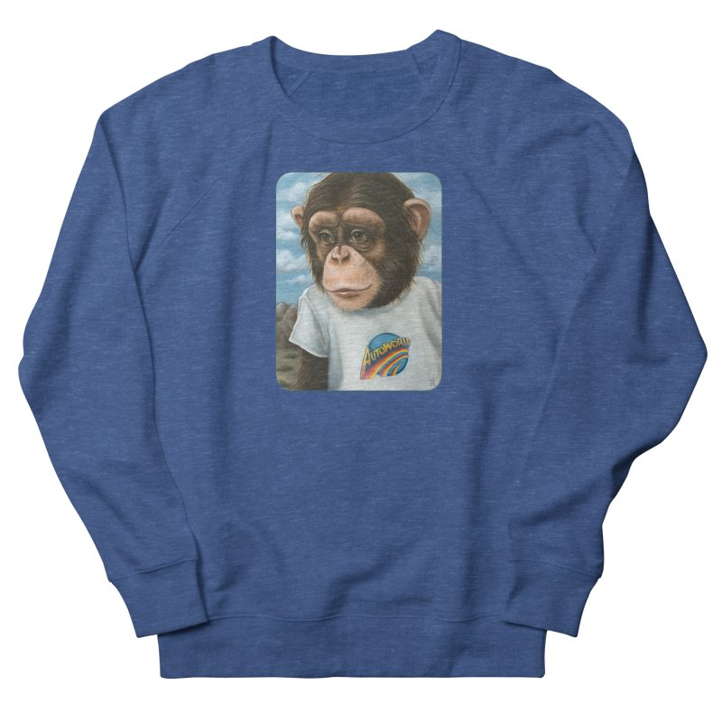 Auto Chimp Men's Sweatshirt by Ken Keirns