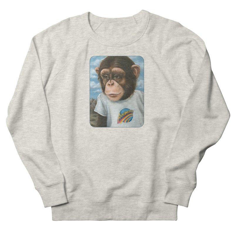 Auto Chimp Men's Sweatshirt by Ken Keirns