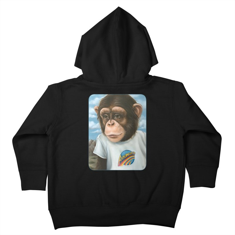 Auto Chimp Kids Toddler Zip-Up Hoody by Ken Keirns