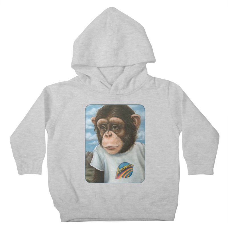 Auto Chimp Kids Toddler Pullover Hoody by Ken Keirns