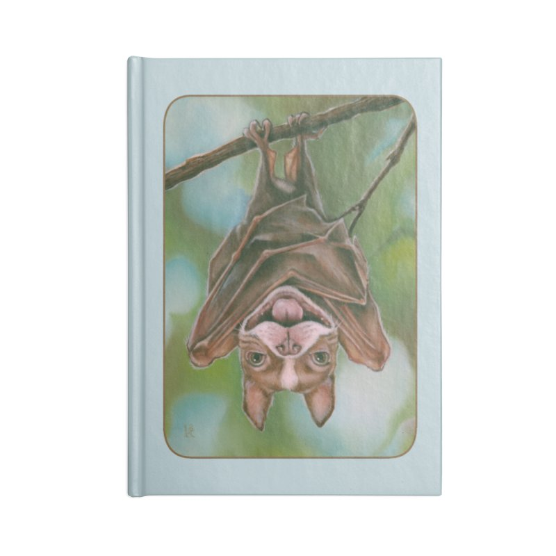 The rarely seen Boston Pteropus Accessories Lined Journal Notebook by Ken Keirns