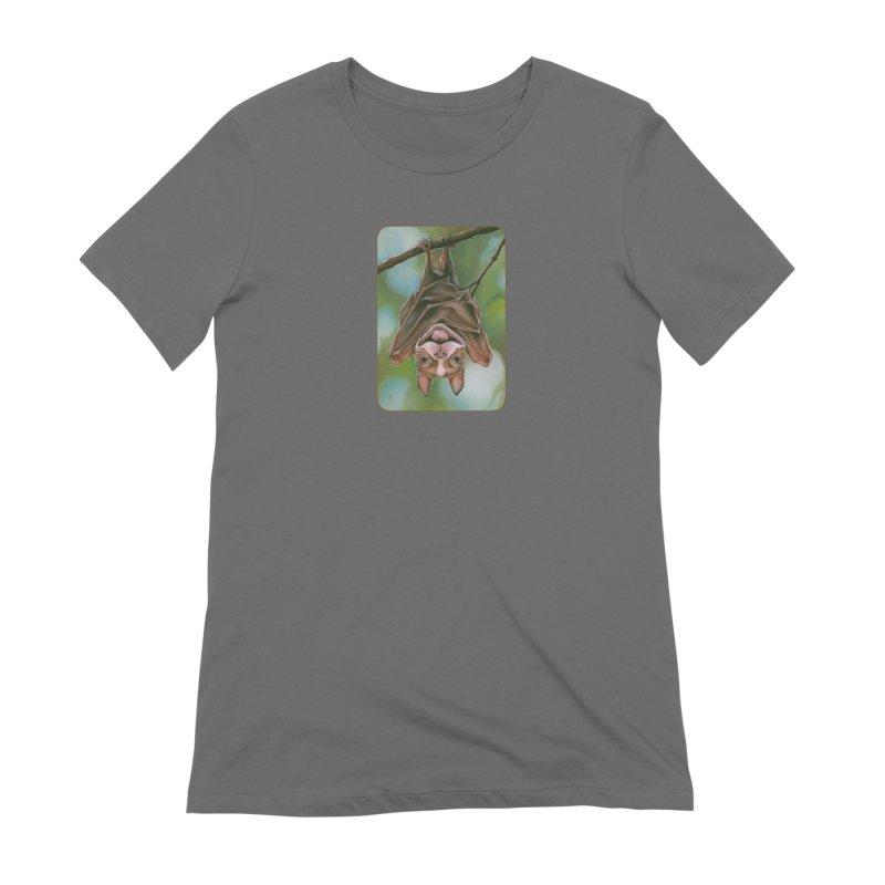 The rarely seen Boston Pteropus Women's T-Shirt by Ken Keirns