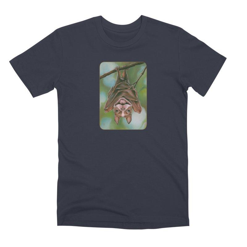 The rarely seen Boston Pteropus Men's Premium T-Shirt by Ken Keirns