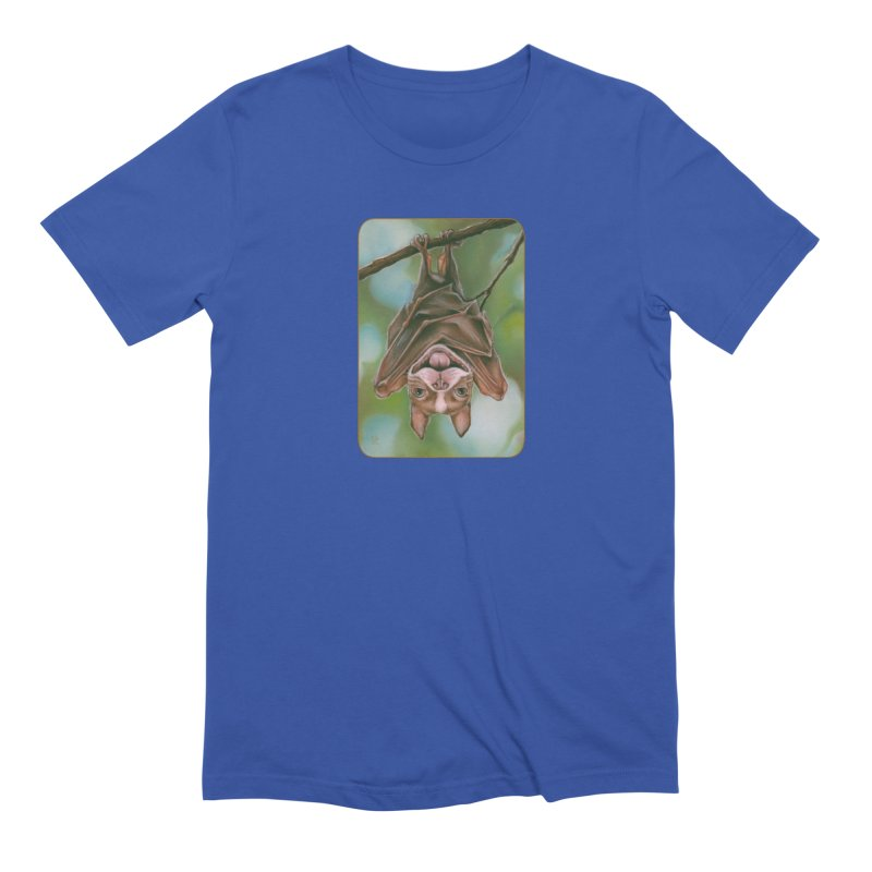 The rarely seen Boston Pteropus Men's Extra Soft T-Shirt by Ken Keirns
