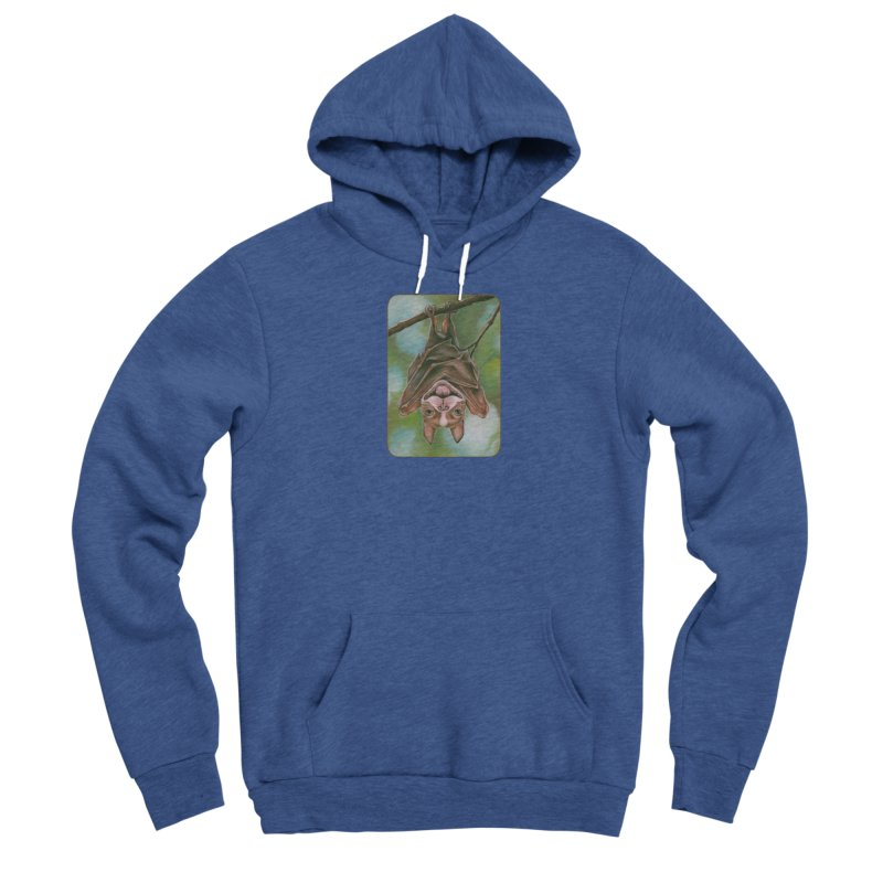 The rarely seen Boston Pteropus Men's Sponge Fleece Pullover Hoody by Ken Keirns