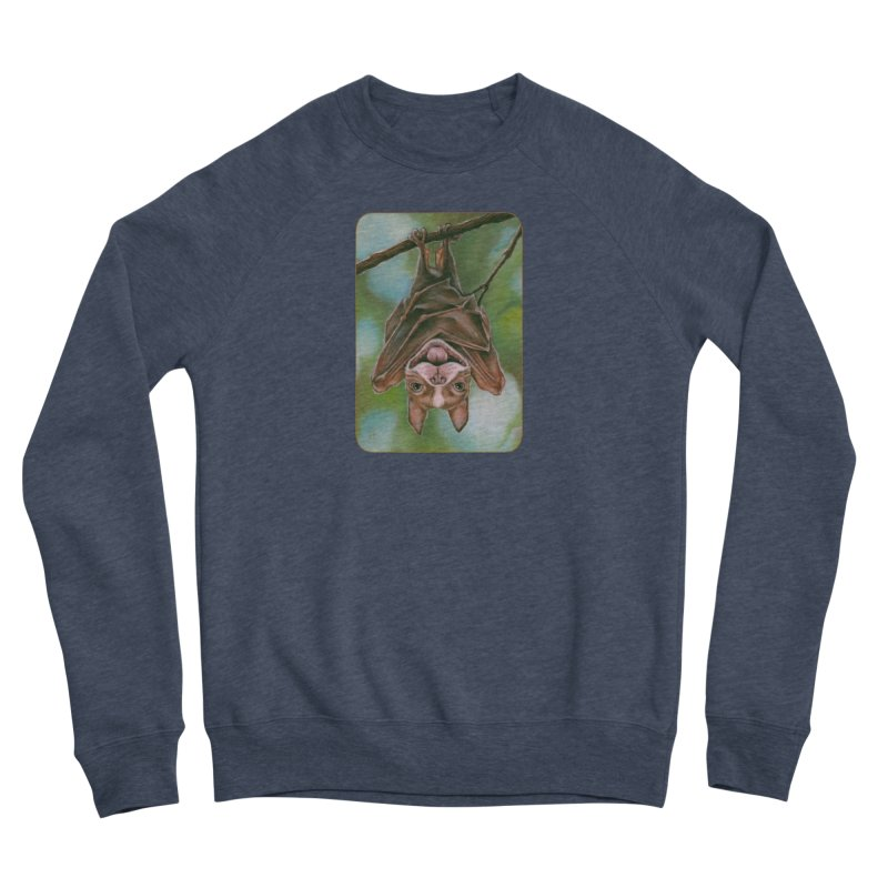 The rarely seen Boston Pteropus Men's Sponge Fleece Sweatshirt by Ken Keirns