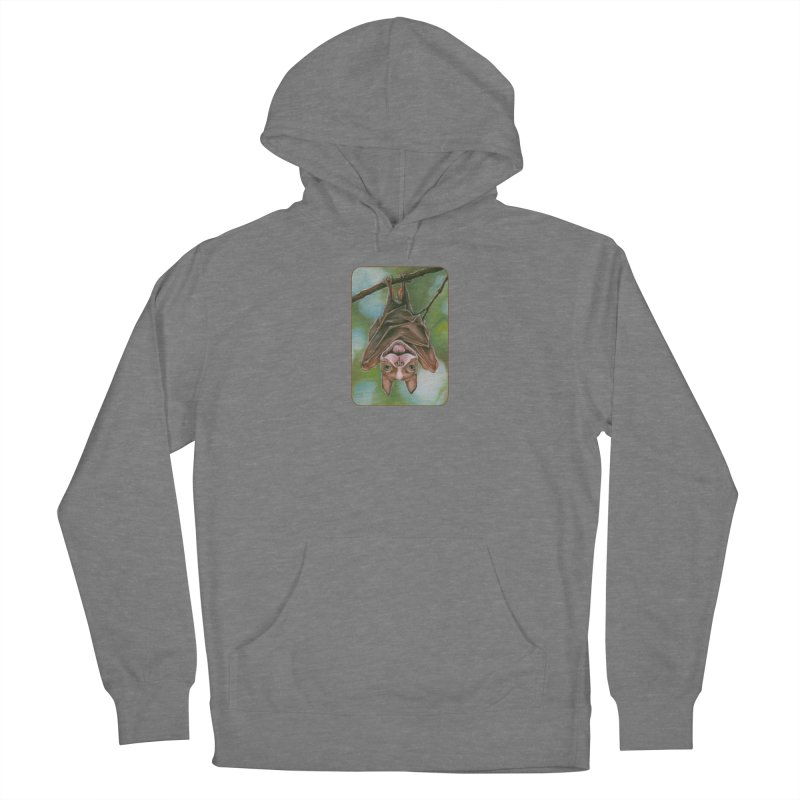 The rarely seen Boston Pteropus Women's Pullover Hoody by Ken Keirns