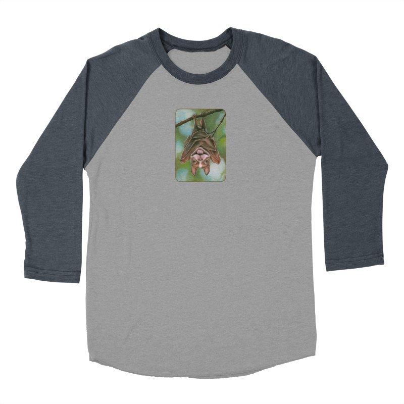 The rarely seen Boston Pteropus Women's Baseball Triblend Longsleeve T-Shirt by Ken Keirns