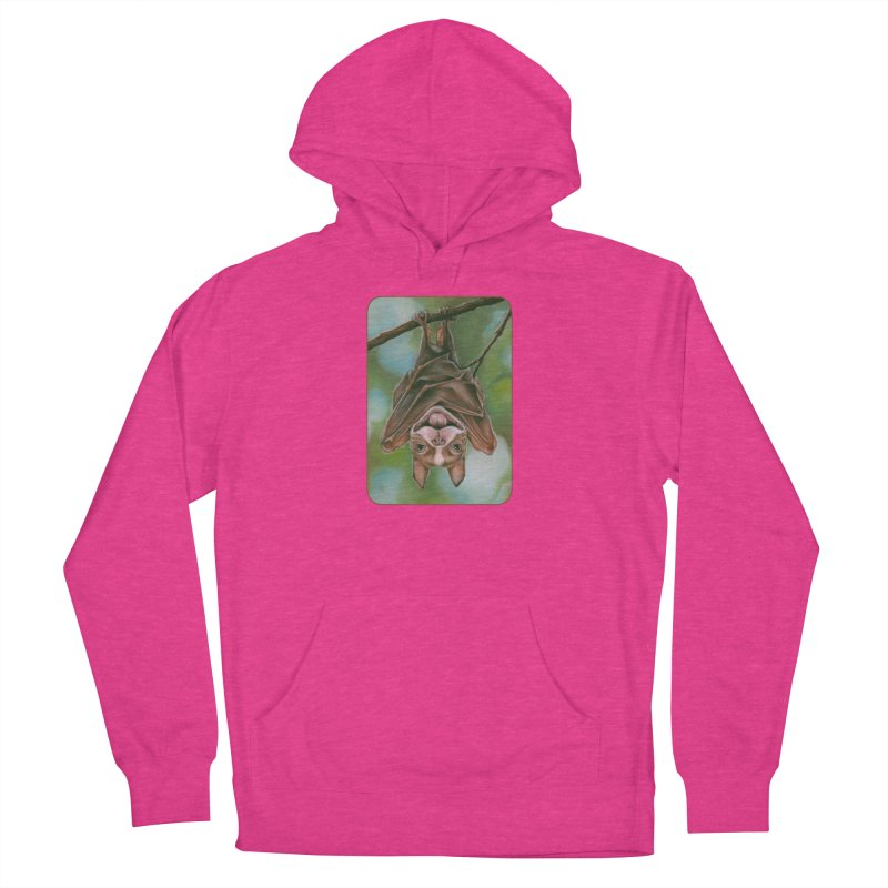 The rarely seen Boston Pteropus Men's French Terry Pullover Hoody by Ken Keirns
