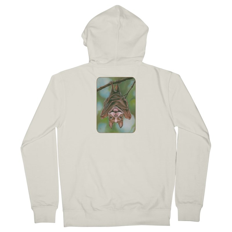 The rarely seen Boston Pteropus Men's French Terry Zip-Up Hoody by Ken Keirns