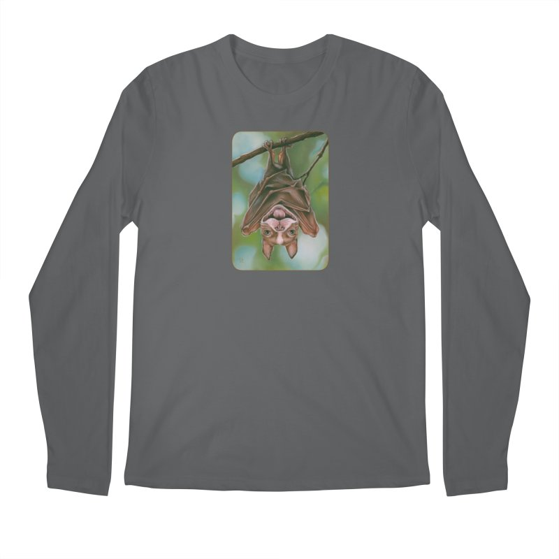 The rarely seen Boston Pteropus Men's Longsleeve T-Shirt by Ken Keirns