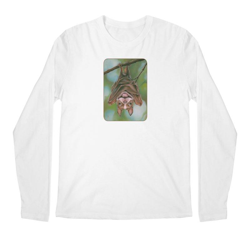 The rarely seen Boston Pteropus Men's Longsleeve T-Shirt by Ken Keirns