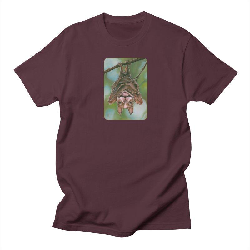 The rarely seen Boston Pteropus Men's Regular T-Shirt by Ken Keirns