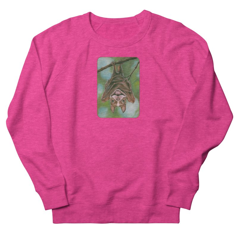 The rarely seen Boston Pteropus Women's French Terry Sweatshirt by Ken Keirns