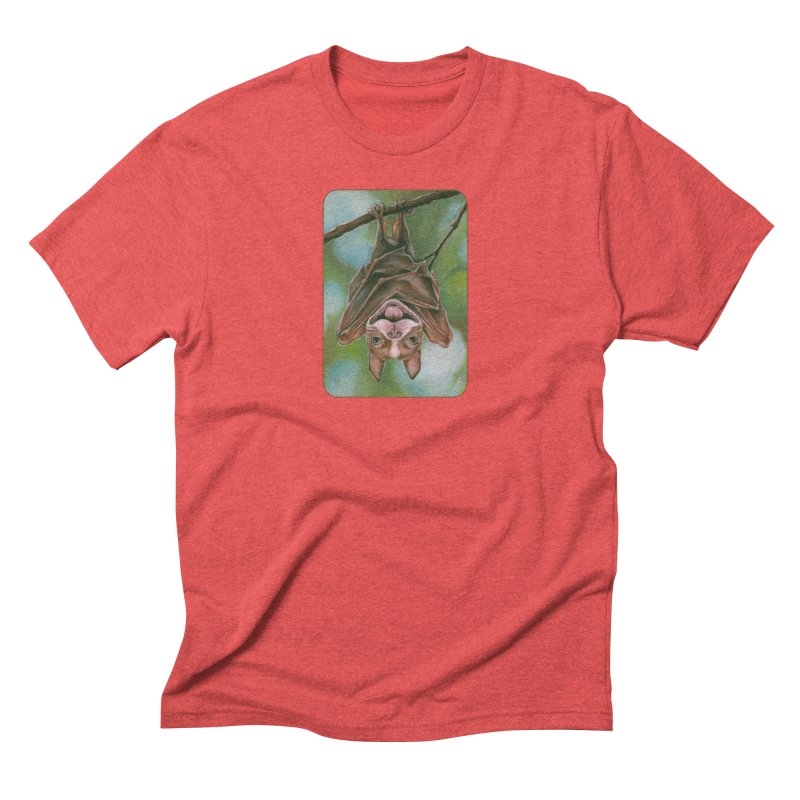The rarely seen Boston Pteropus Men's Triblend T-Shirt by Ken Keirns