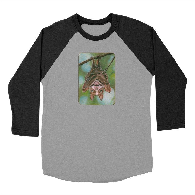 The rarely seen Boston Pteropus Men's Baseball Triblend Longsleeve T-Shirt by Ken Keirns