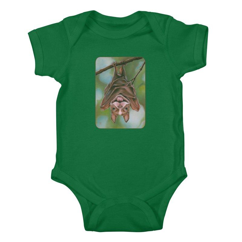 The rarely seen Boston Pteropus Kids Baby Bodysuit by Ken Keirns