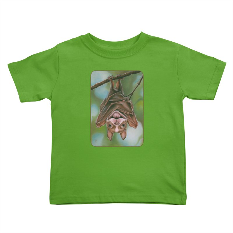 The rarely seen Boston Pteropus Kids Toddler T-Shirt by Ken Keirns