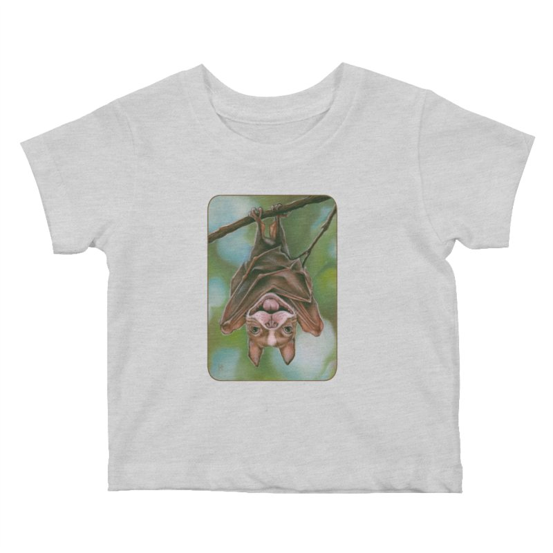 The rarely seen Boston Pteropus Kids Baby T-Shirt by Ken Keirns