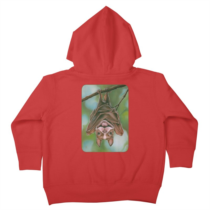 The rarely seen Boston Pteropus Kids Toddler Zip-Up Hoody by Ken Keirns