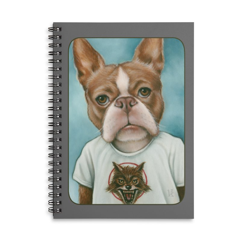 Sheep In Wolf's Clothing Accessories Lined Spiral Notebook by Ken Keirns