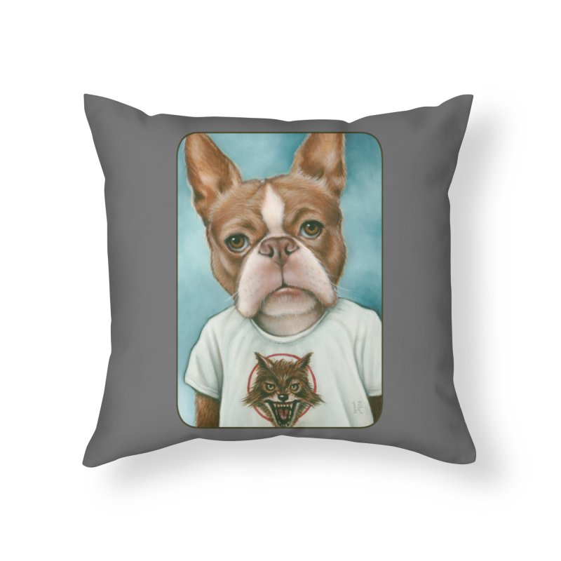 Sheep In Wolf's Clothing Home Throw Pillow by Ken Keirns