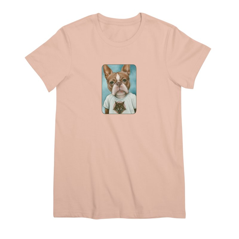 Sheep In Wolf's Clothing Women's Premium T-Shirt by Ken Keirns