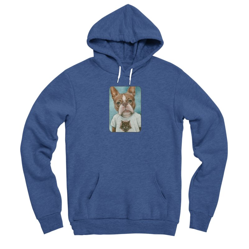 Sheep In Wolf's Clothing Men's Sponge Fleece Pullover Hoody by Ken Keirns