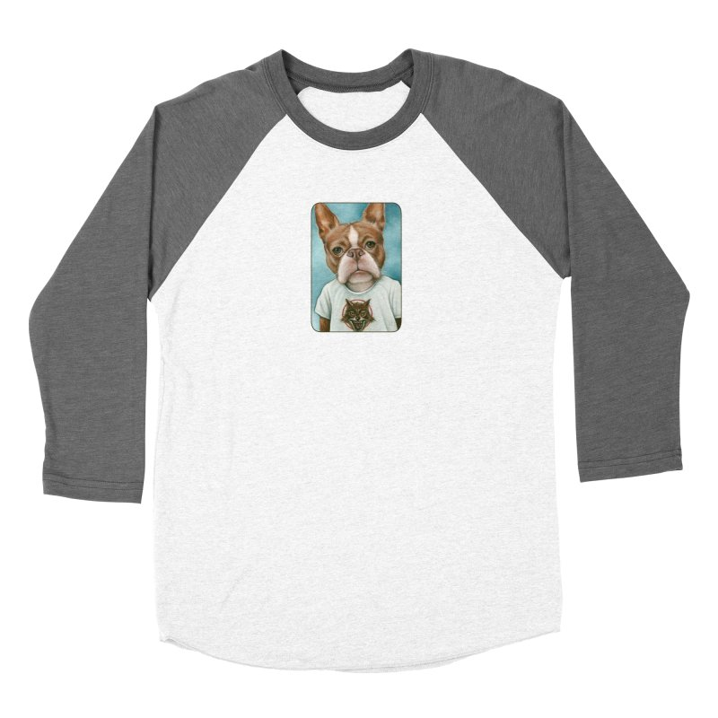 Sheep In Wolf's Clothing Men's Baseball Triblend Longsleeve T-Shirt by Ken Keirns