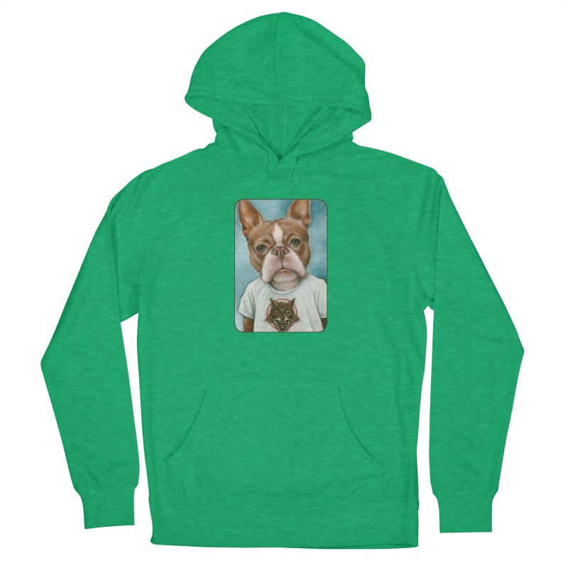 Sheep In Wolf's Clothing Women's French Terry Pullover Hoody by Ken Keirns