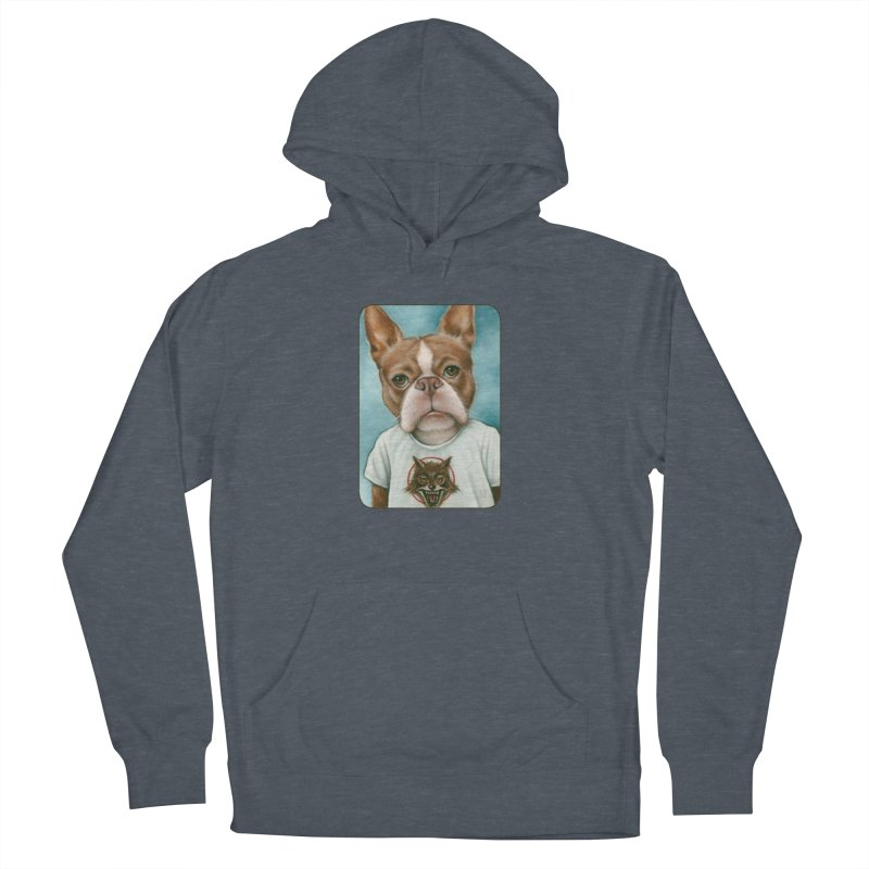 Sheep In Wolf's Clothing Men's French Terry Pullover Hoody by Ken Keirns