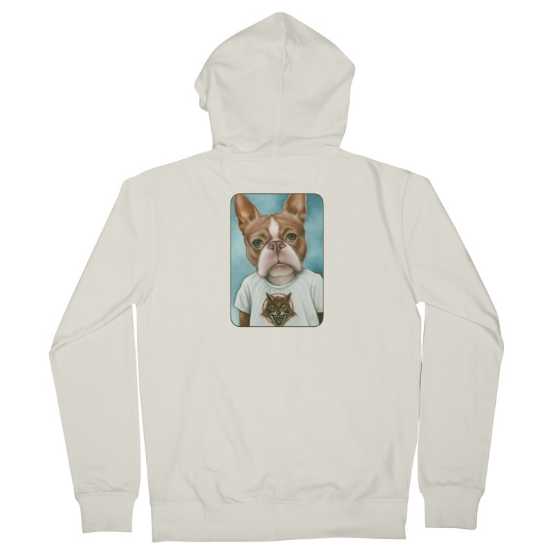 Sheep In Wolf's Clothing Women's French Terry Zip-Up Hoody by Ken Keirns