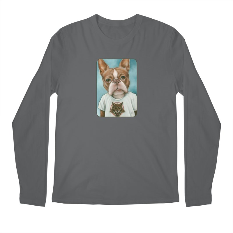 Sheep In Wolf's Clothing Men's Longsleeve T-Shirt by Ken Keirns