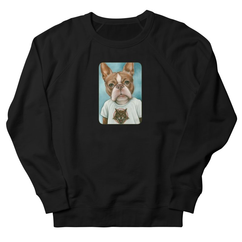 Sheep In Wolf's Clothing Women's French Terry Sweatshirt by Ken Keirns