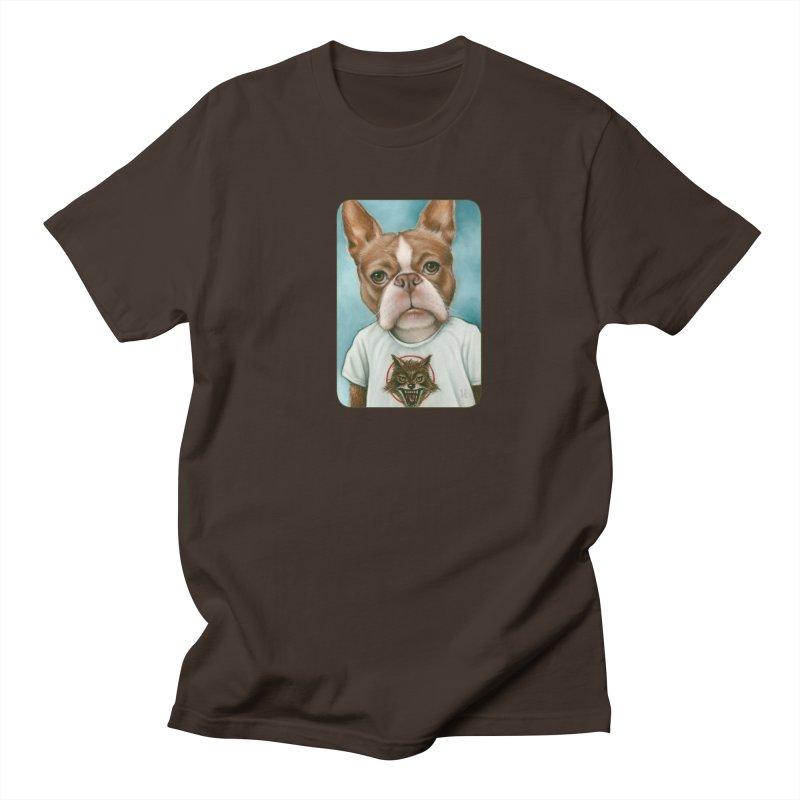 Sheep In Wolf's Clothing Men's Regular T-Shirt by Ken Keirns