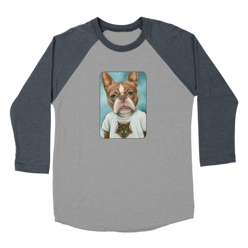 Sheep In Wolf's Clothing Women's Baseball Triblend Longsleeve T-Shirt by Ken Keirns