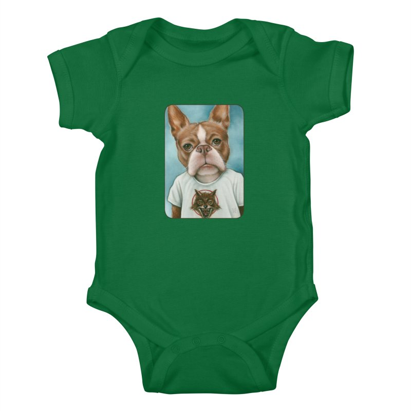 Sheep In Wolf's Clothing Kids Baby Bodysuit by Ken Keirns