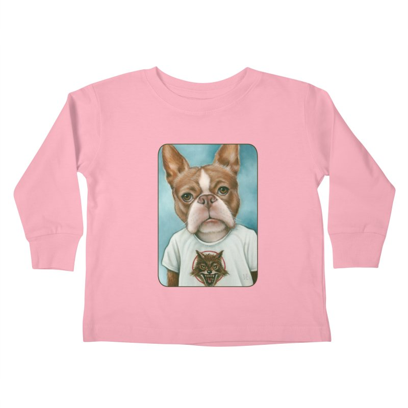 Sheep In Wolf's Clothing Kids Toddler Longsleeve T-Shirt by Ken Keirns