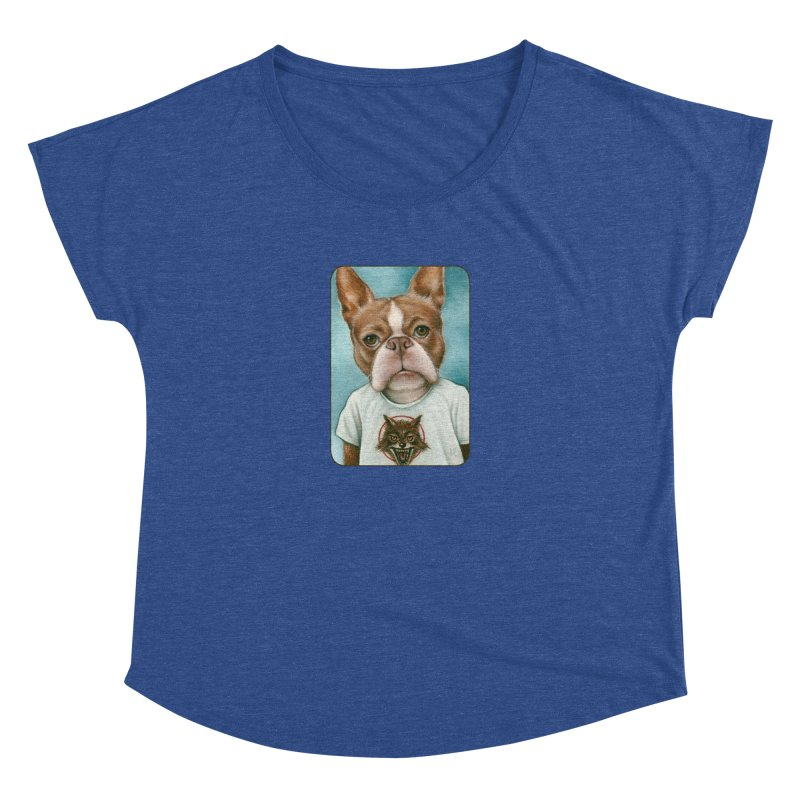 Sheep In Wolf's Clothing Women's Dolman Scoop Neck by Ken Keirns