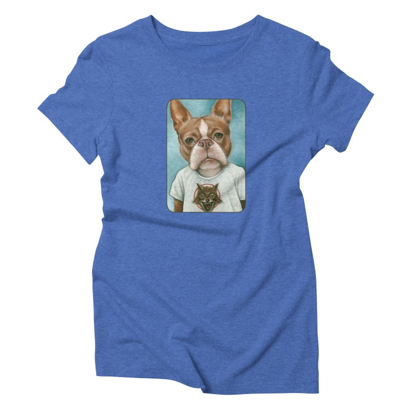 Sheep In Wolf's Clothing Women's Triblend T-Shirt by Ken Keirns