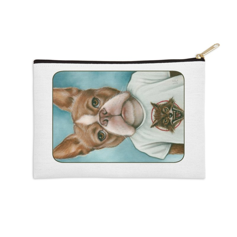 Sheep In Wolf's Clothing Accessories Zip Pouch by Ken Keirns