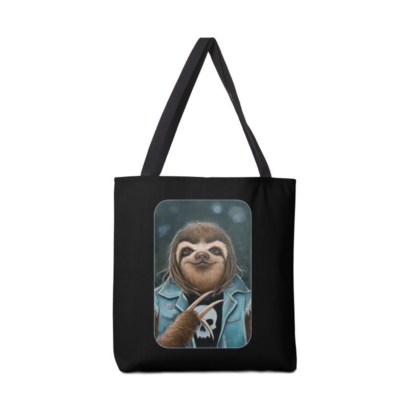 Metal Sloth Accessories Tote Bag Bag by Ken Keirns