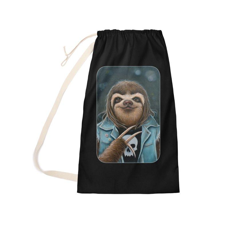 Metal Sloth Accessories Bag by Ken Keirns