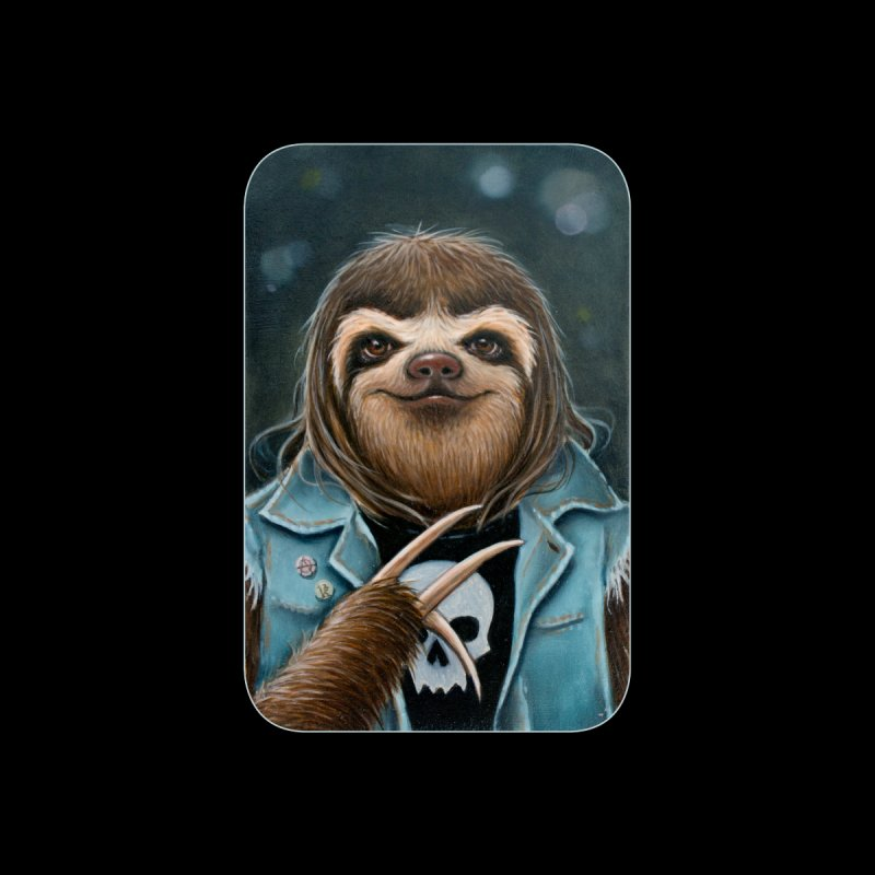Metal Sloth Women's Zip-Up Hoody by Ken Keirns